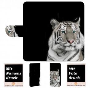Sony Xperia XZ3 Personalisierte Handy Tasche mit Fotodruck Tiger