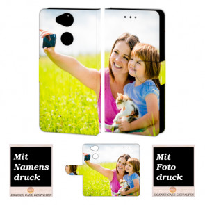 Sony XA2 Personalisierte Handy Hülle Tasche mit Foto Text Bild Druck