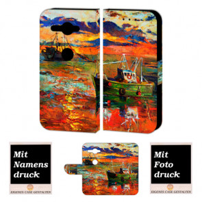 Personalisierte Handy Hülle für Sony XZ2 Compact mit Gemälde + Foto + Druck