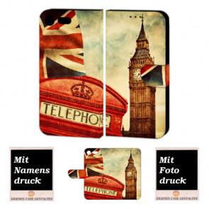 Handy Hülle mit Big Ben-London Fotodruck für Sony Xperia XZ Premium