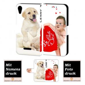 Wiko Lenny 4 Personalisierte Handyhülle mit Foto Text Bild Druck
