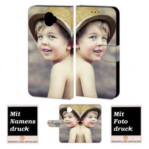 Wiko Wim Personalisierte Handy Hülle Tasche mit Foto Text Bild Druck