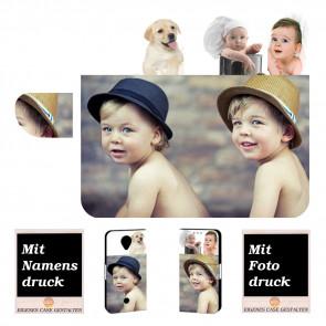 Wiko U Feel Schutzhülle Handy Tasche mit Foto Text Bild Druck