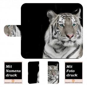 Huawei P Smart (2019) Personalisierte Handyhülle mit Tiger + Fotodruck