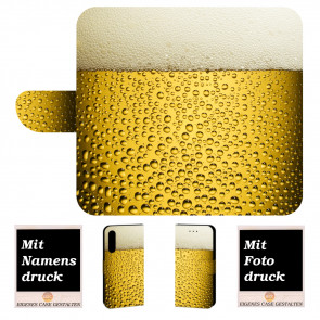 Personalisierte Handyhülle mit Bier + Fotodruck für iPhone XS Etui