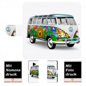 Samsung Galaxy J8 (2018) Handyhülle mit Hippie Bus Fotodruck