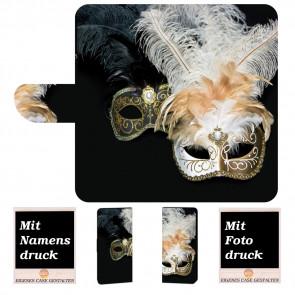 Handyhülle mit Masken Fotodruck für Samsung Galaxy J8 (2018)