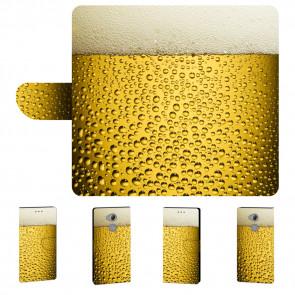 Personalisierte Handy Hülle mit Bier Bilddruck für Sony Xperia XA2