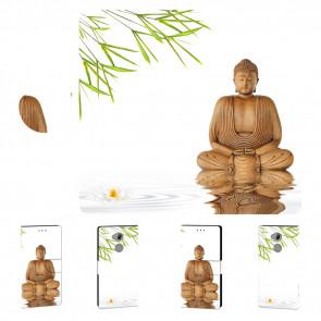 Schutzhülle Handy mit Frieden Buddha Bilddruck für Sony Xperia XA2