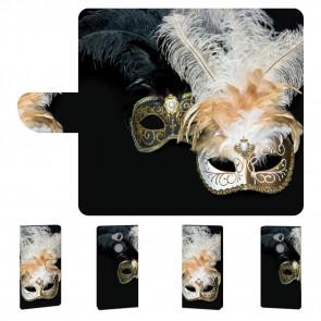 Handyhülle Tasche mit Fotodruck Masken für Sony Xperia XA2 Ultra