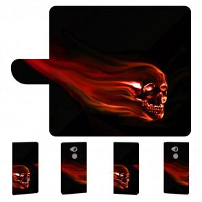 Handyhülle mit Totenschädel Bilddruck für Sony Xperia XA2 Ultra