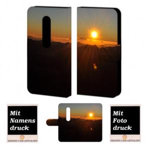 Moto G (3nd Gen) 2015 Sonnenaufgang Handy Tasche Hülle Foto Bild Druck