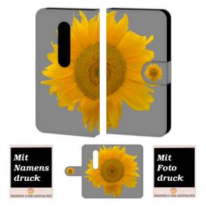 Moto G (3nd Gen) 2015 Sonnenblumen Handy Tasche Hülle Foto Bild Druck