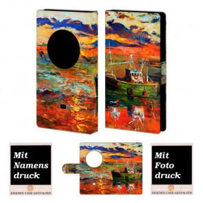 Nokia Lumia 1020 Gemälde Handy Tasche Hülle Foto Bild Druck