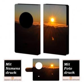 Nokia Lumia 1020 Sonnenaufgang Handy Tasche Hülle Foto Bild Druck