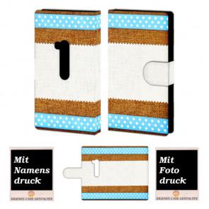 Nokia Lumia 920 Muster Handy Tasche Hülle Foto Bild Druck
