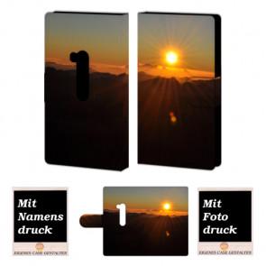 Nokia Lumia 920 Sonnenaufgang Handy Tasche Hülle Foto Bild Druck