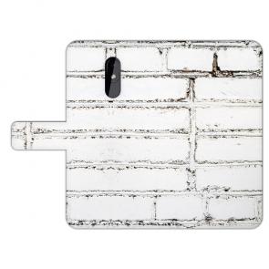 Individuelle Handy Hülle für Nokia 3.2 mit Fotodruck Weiße Mauer Tasche