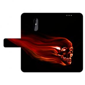 Handy Hülle mit Fotodruck Totenschädel für Nokia 3.2 Schutzhülle