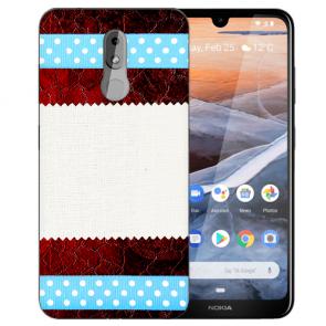 Silikon TPU Handy Hülle für Nokia 3.2 Case mit Bilddruck Muster Etui