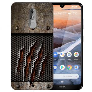 Silikon TPU Handy Hülle mit Bilddruck Monster-Kralle für Nokia 3.2