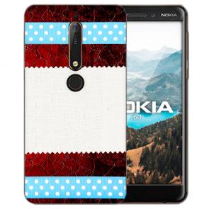Muster mit Bilddruck für Nokia 6.1 (2018) Silikon TPU Handy Hülle