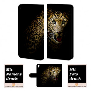 One Plus X Tiger Handy Tasche Hülle Foto Bild Druck