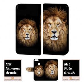 One Plus 5 Personalisierte Handy Hülle mit Löwe + Foto + Text Druck