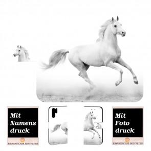 Samsung Galaxy Note 10 Plus Handyhülle mit Pferd Text Bilddruck