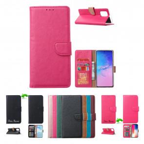 Schutzhülle Handy Tasche für iPhone 12 in Rosa Etui