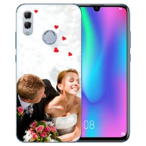 Huawei Honor 10 Lite Silikon Schutzhülle TPU Case mit Foto Bilddruck