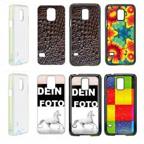 Samsung Galaxy S5 G900F Handyhülle Hard Case mit Fotodruck selbst gestalten