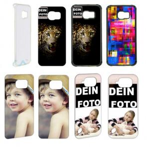 2D Hülle für Samsung Galaxy S6 Active Hard case mit Foto und Text zum selbst gestalten.