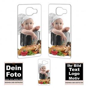 2D Hülle für  Samsung Galaxy A3 (2016) Hard case mit Foto und Text zum selbst gestalten.