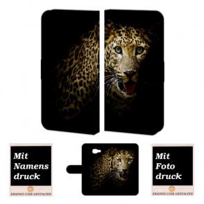 Samsung Galaxy A7 (2016) Handyhülle mit Fotodruck Leopard
