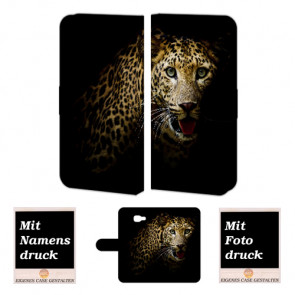 Personalisierte Handyhülle Samsung Galaxy A3 (2017) mit Leopard Bilddruck