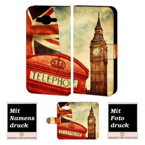 Samsung Galaxy Core 4G Handy Tasche mit Bilddruck Big Ben-London