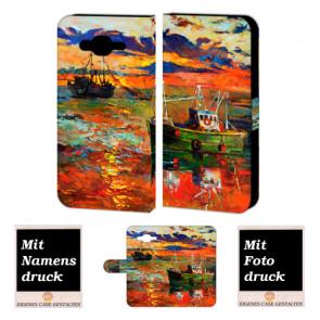Samsung Galaxy E5 Handy Tasche Hülle mit Foto Druck Gemälde