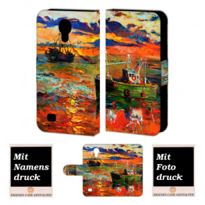 Samsung Galaxy S4 Personalisierte Handyhülle mit Gemälde + Bilddruck