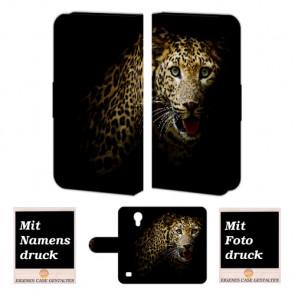 Samsung Galaxy S4 Mini Individuelle schutzhülle Personalisiert Tasche Foto Tiger