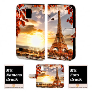 Samsung Galaxy S5 mini Personalisierte Handyhülle mit Foto Bild Druck Eiffelturm