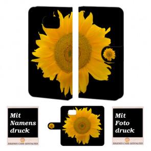 Samsung Galaxy S6 Sonnenblumen Handy Tasche Hülle Foto Bild Druck