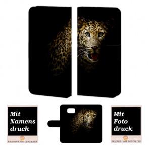 Samsung Galaxy S6 Tiger Handy Tasche Hülle Foto Bild Druck