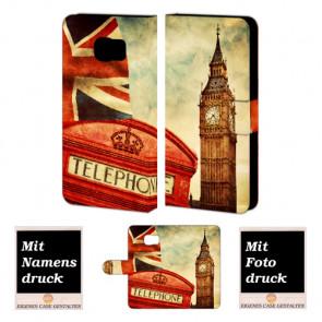 Samsung Galaxy S7 Active Handyhülle selbst gestalten mit eigenem Foto Big Ben-Uhrturm London