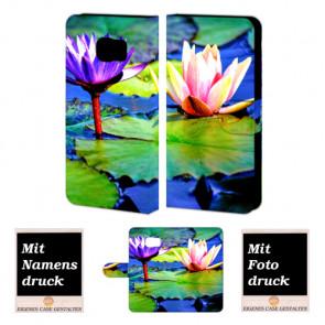 Samsung Galaxy S7 Active Handyhülle mit Foto Druck zum selbst gestalten Lotosblumen