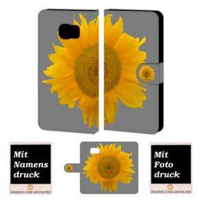 Samsung Galaxy S7 Active Handyhülle selbst gestalten mit eigenem Foto Sonnenblumen