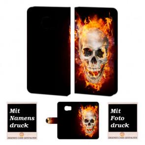 Samsung Galaxy S7 Active Personalisierte Handyhülle mit Foto selbst gestalten Totenschädel