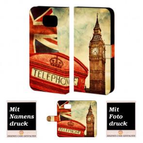 Samsung Galaxy S6 Edge Plus Handyhülle selbst gestalten mit eigenem Foto Big Ben-Uhrturm London