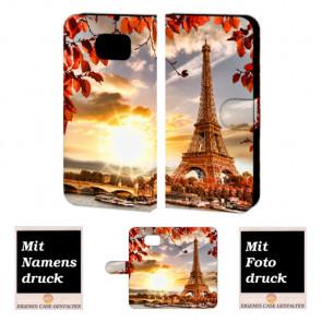Samsung Galaxy S6 Handyhülle selbst gestalten mit eigenem Foto Eiffelturm