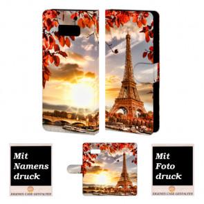 Samsung Galaxy S8 Plus Handyhülle zum selbst zu gestalten mit Foto + Eiffelturm